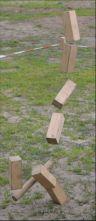 Kubb auf der Kirchenwiese (1)