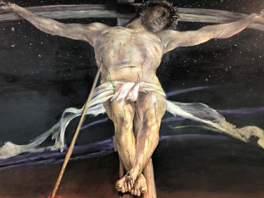 """Christus am Kreuz"" (Harald K. Schulze)"
